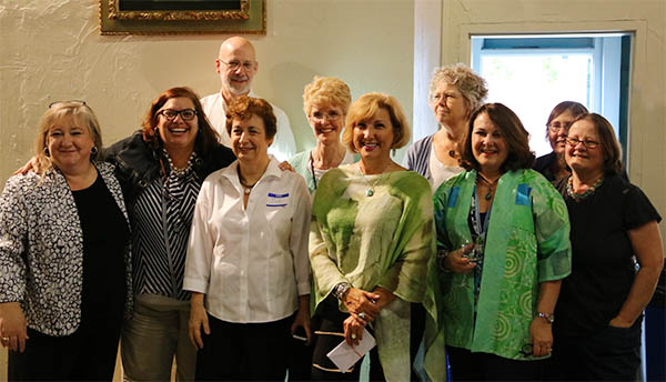 Image of empty bowls committee members